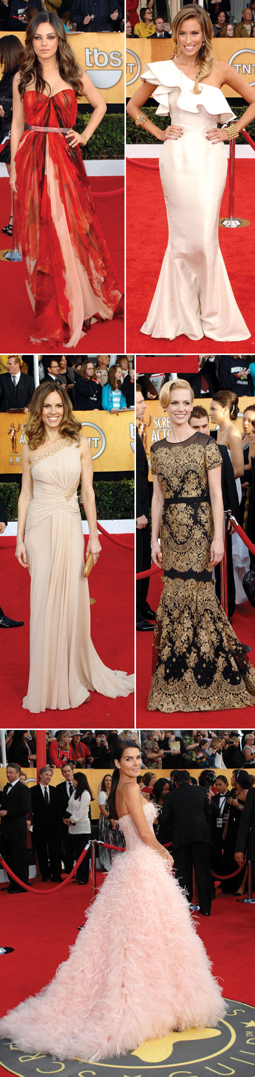 BnB's 2011 Screen Actors Guild Awards Recap