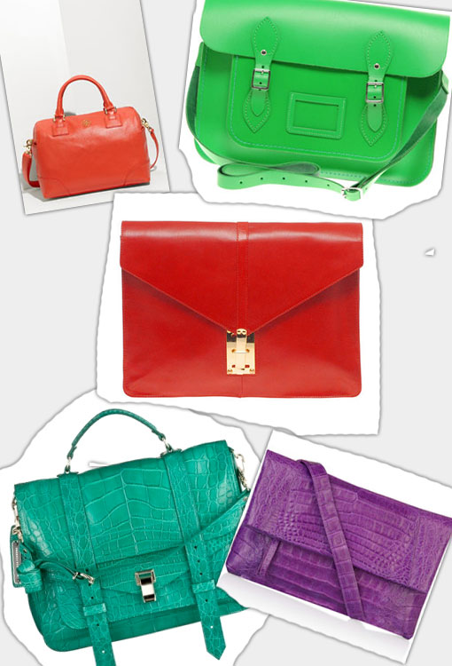 Bright Baggage For Spring