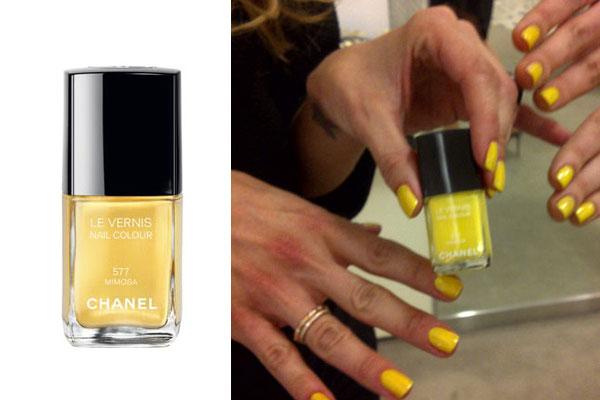 Chanel's Nail Polish: Mimosa