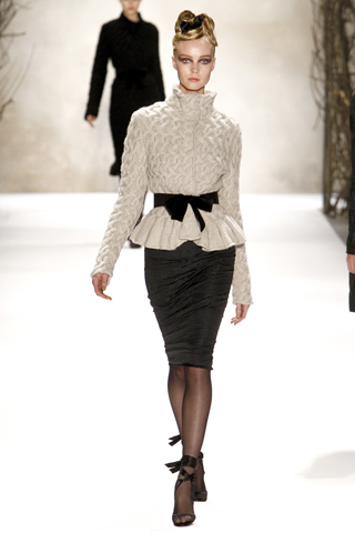 """Structured Silhouettes: Monique Lhuillier, Kelly Fisher Katz and The Aviva """"A"""" Gala"""