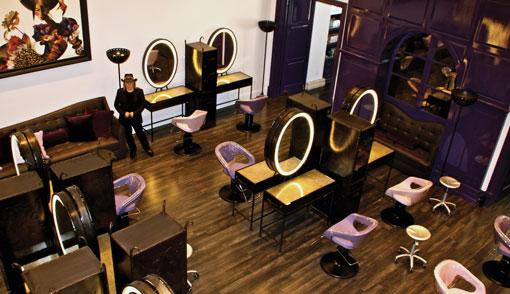 Fashion Nail Beauty Spa Elizabeth Nj: The New José Eber Salon: Contemporary Parisian Whimsy In