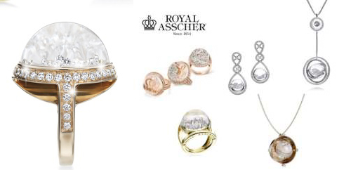 rings diamond why making three rose sided asscher royal ring a comeback engagement are pave