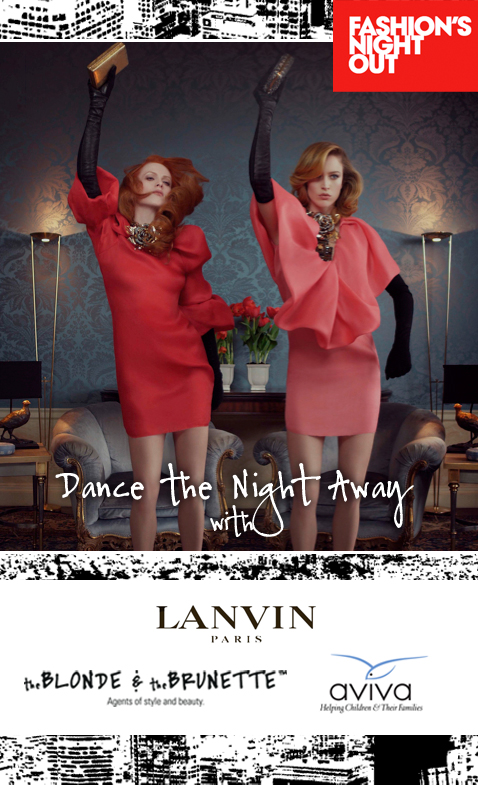 Dance The Night Away With B&B and Lanvin on Fashion's Night Out!