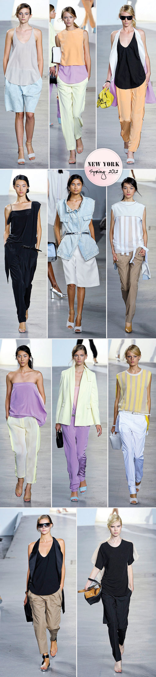 Phillip Lim Brings Out The Brights For Spring 2012