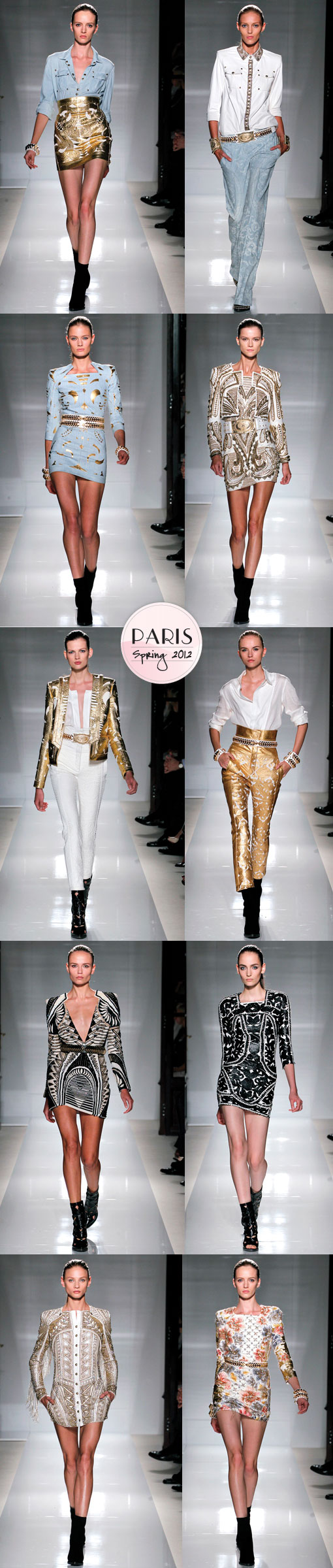 Balmain Spring 2012: Breaking Dawn