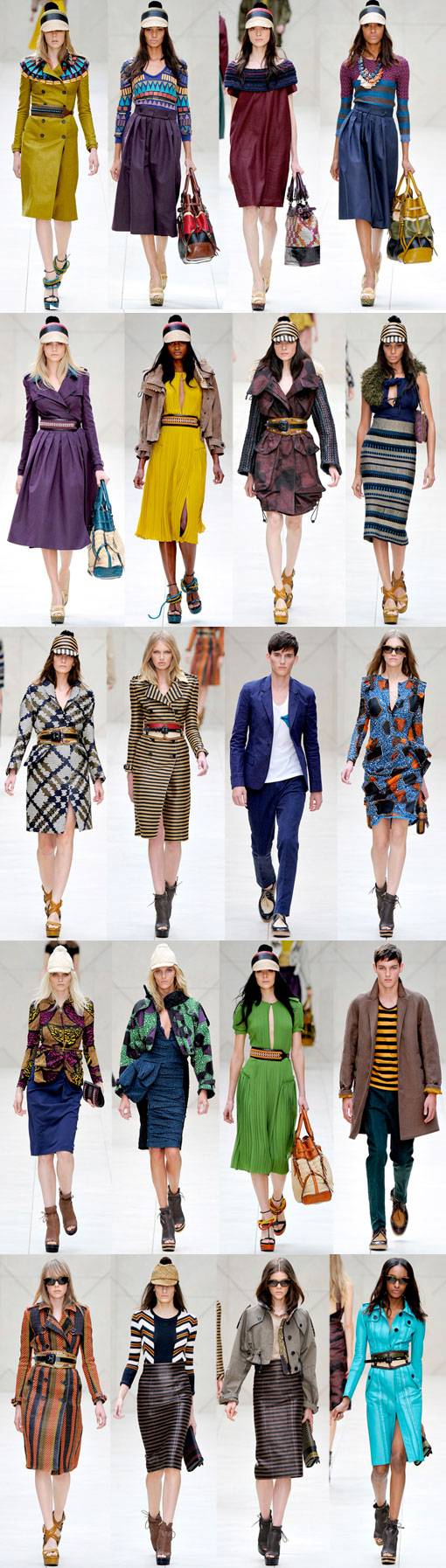 Burberry Prorsum Is A Smash At London Fashion Week