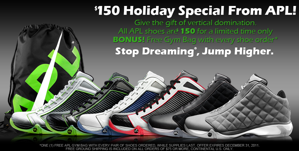 Athletic Propulsion Labs Holiday Special