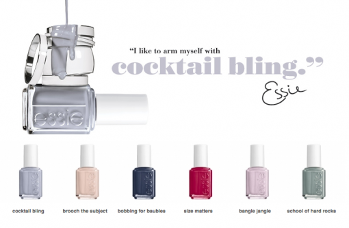 Essie Travel Size Nail Polish Cocktail Bling