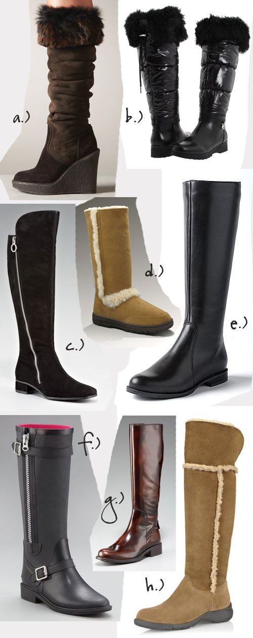 8 Great Functional & Fashionable Winter Boots