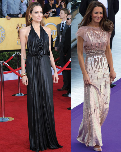 Jenny Packham Runway to Red Carpet Glamour…From The Duchesss Of Cambridge to Angelina