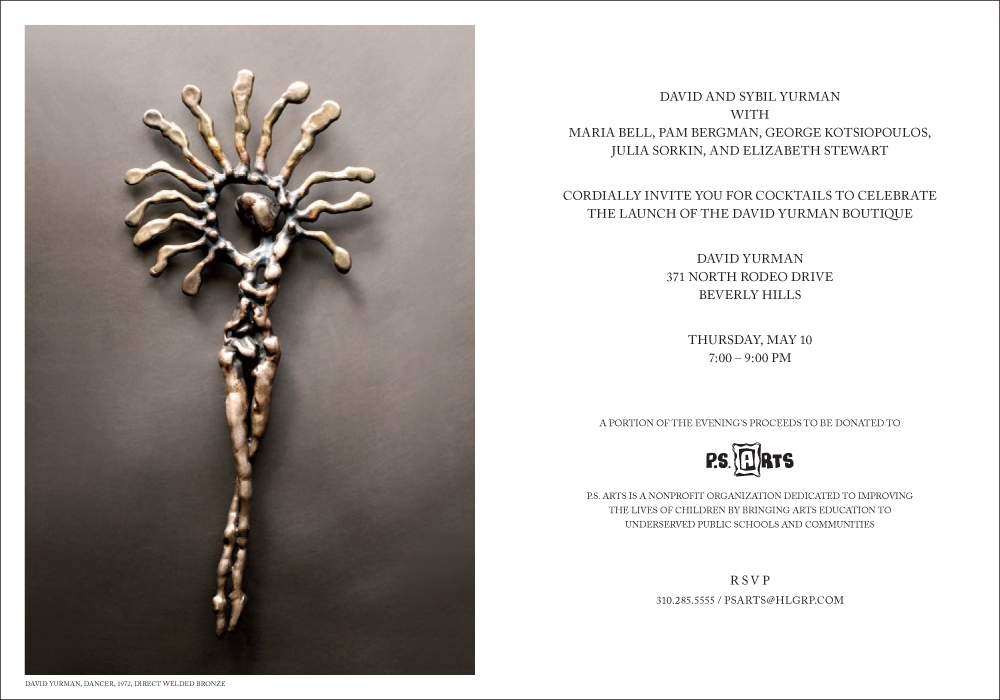 David Yurman Rodeo Drive Boutique Re-Opening
