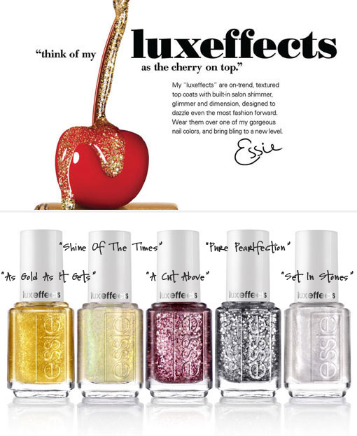 Nail Polish: Luxeffects Top Coats