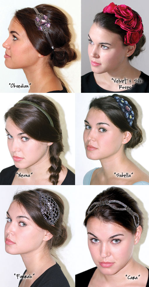 Time To Accessorize: Andrea's Beau Headbands & Giveaway