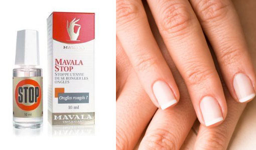 Stop Biting Your Nails Is As Easy As 1...2...MAVALA Stop!