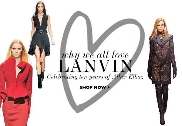 Lanvin 10th Anniversary Celebration