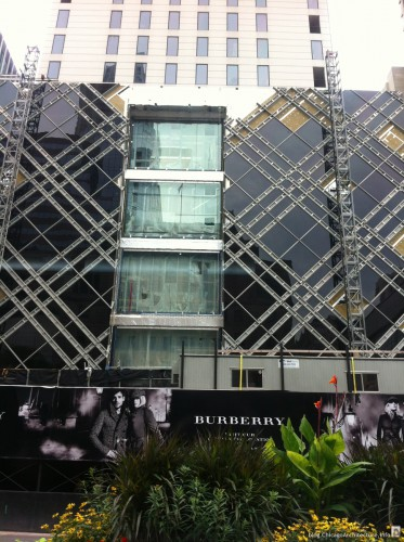 So Close. The New Burberry Flagship Store: Chicago
