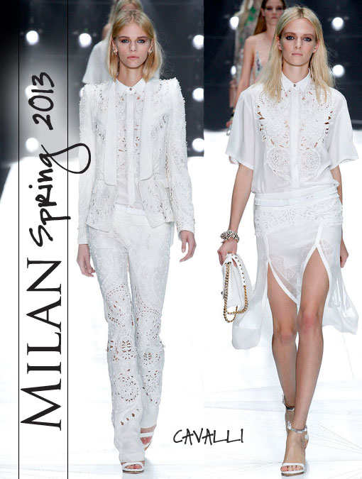 Roberto Cavalli Spring 2013 RTW:The Master of Milan