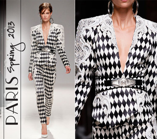 Paris Spring 2013:A Study In Black & White