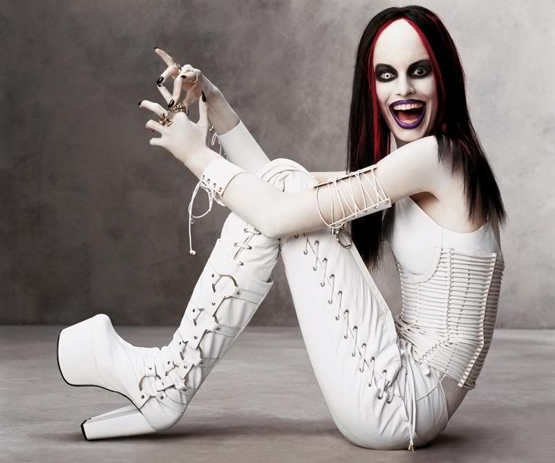 Happy Halloween Marilyn Manson Style