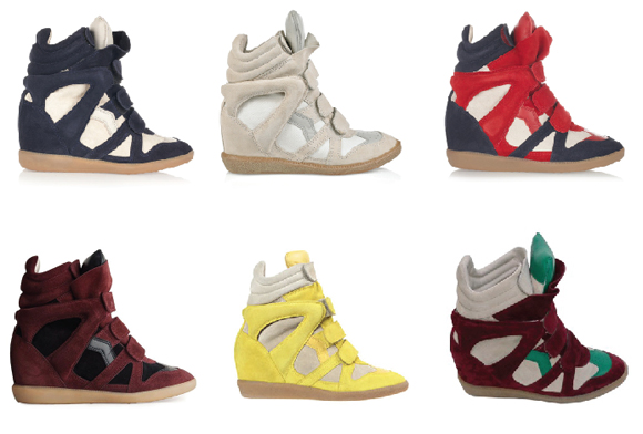 Pumped Up Kicks From Isabel Marant