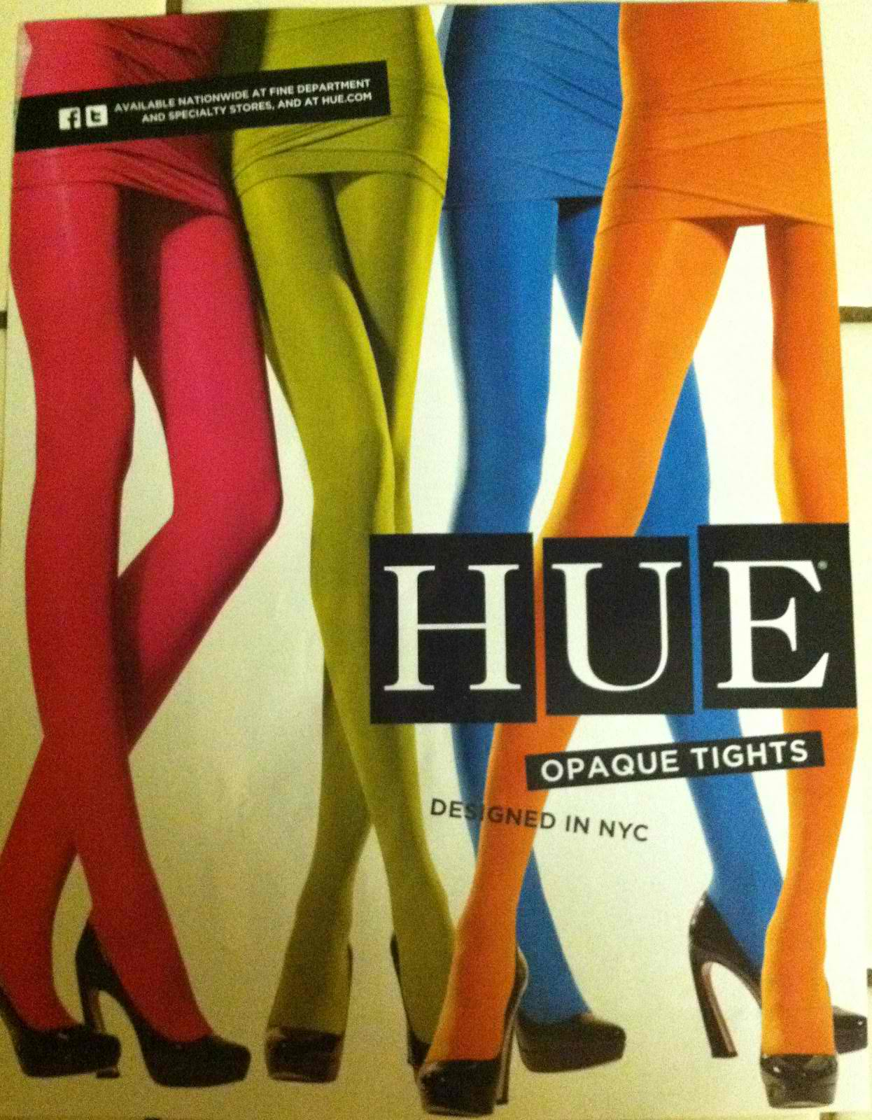 Leg Candy:Hue Opaque Tights