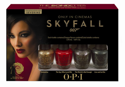 OPI Bond-ettes Mini Lacquer Set & Giveaway