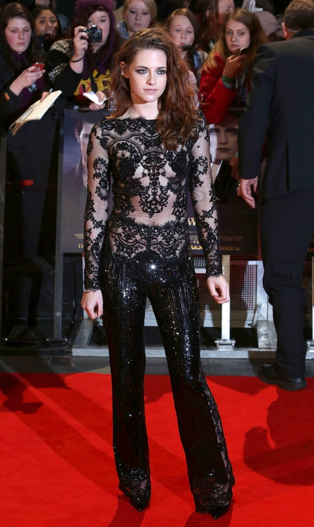 Another Bold Look From Kristen Stewart At London Breaking Dawn Part 2 Premiere