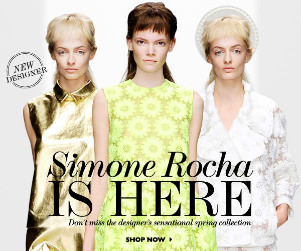 New Designer Simone Rocha Is Here