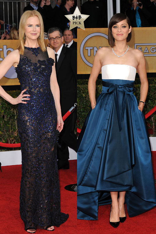 SAG Red Carpet: Sizzling Style