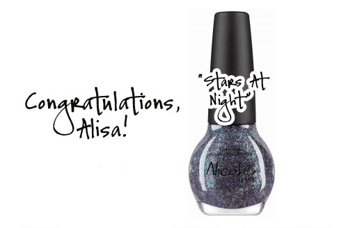 Congratulations Nicole by OPI Selena Gomez Giveaway WINNER!