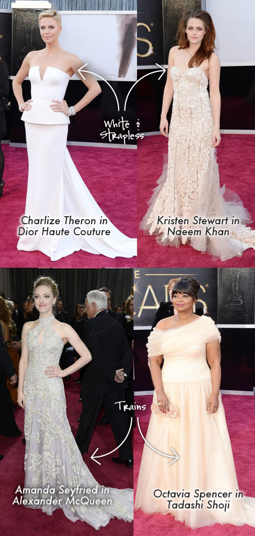 Oscar 2013 Red Carpet Fashion Winners & Losers