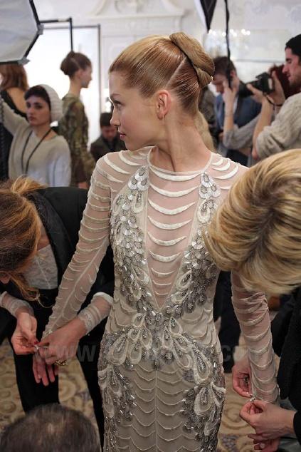 London Fashion Week 2103: Backstage