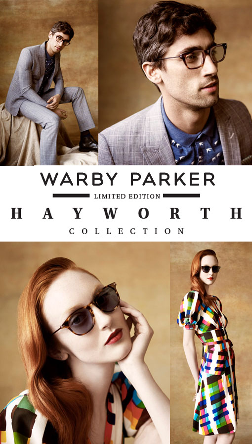 Heartbreaker Alert: Warby Parker Hayworth Collection