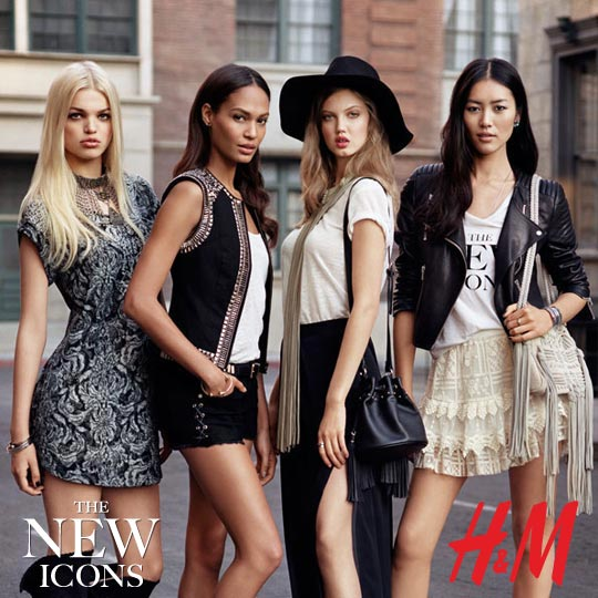 H & M: The New Icons
