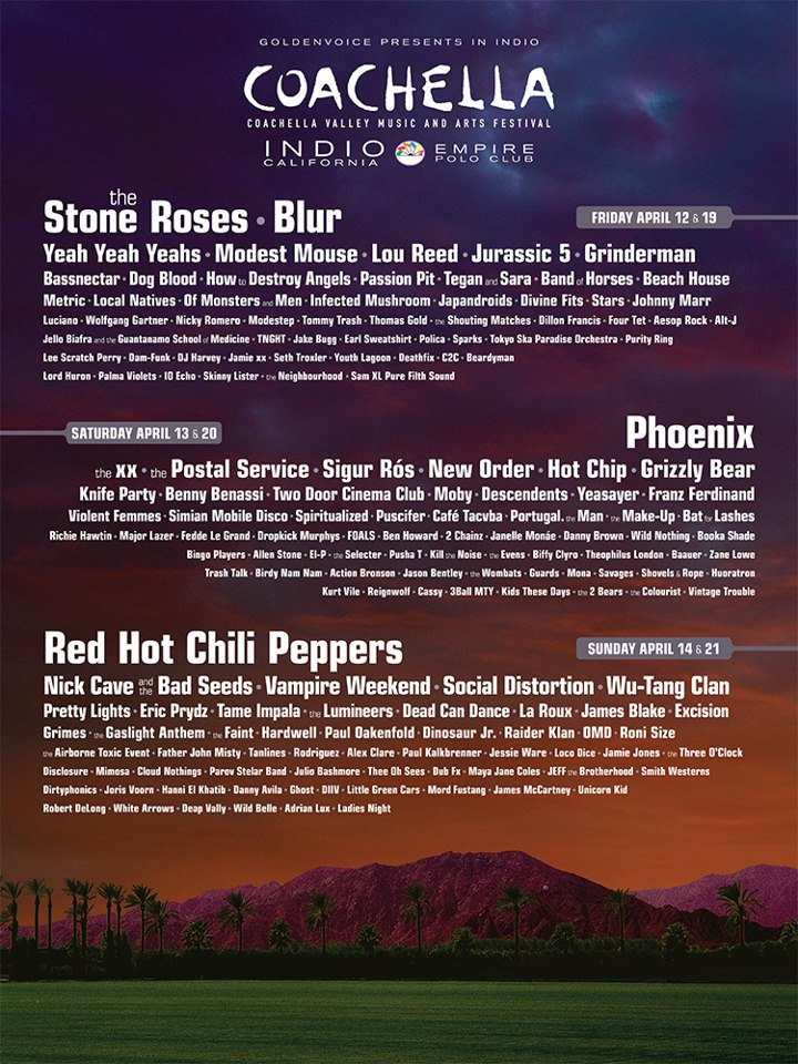 We Came. We Listened. We Loved It! Coachella 2013