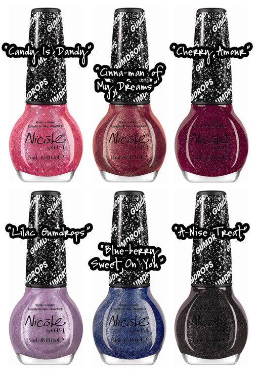 Nicole by OPI Gumdrops Giveaway