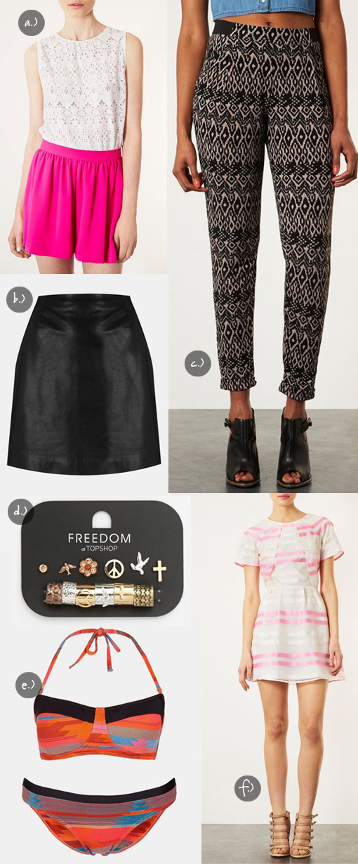 Summer Gear from Topshop