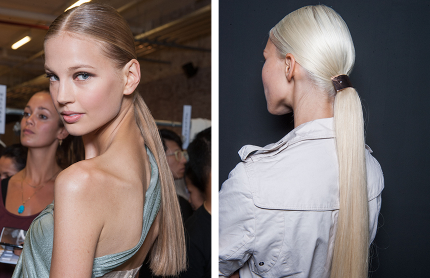 Favorite Fashion Week Hair Moment
