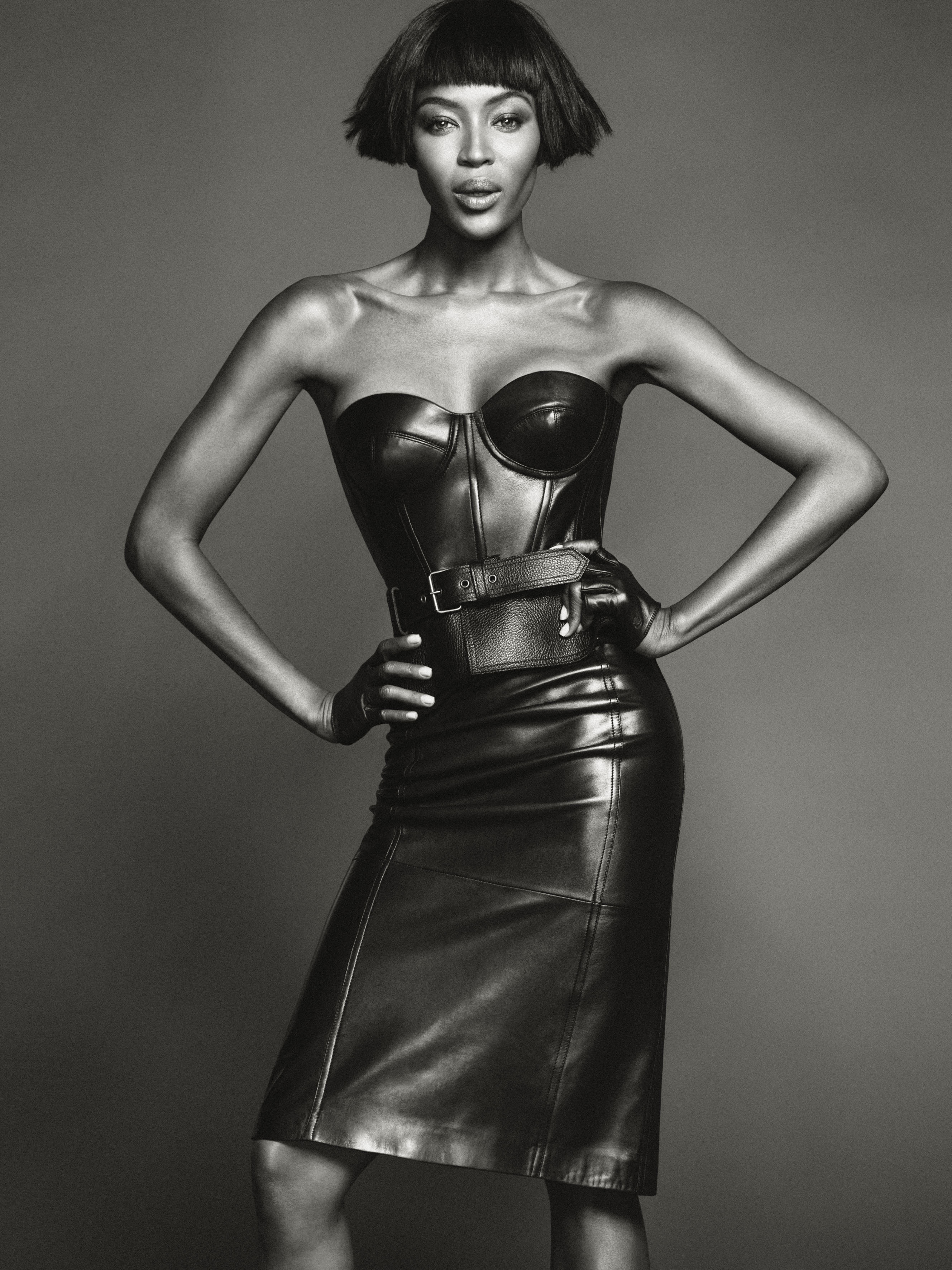 Naomi Campbell Sizzles For Net-A-Porter and Talks About Her New Life