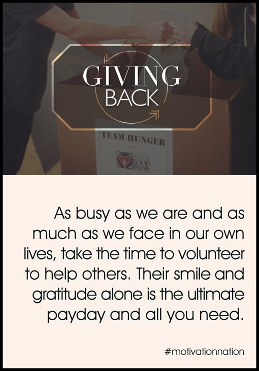 Give Back this Holiday Season!! Six Simple Ways to Help Out Your Community