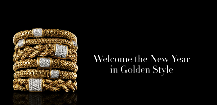 Gold and Diamonds To Bling In The New Year