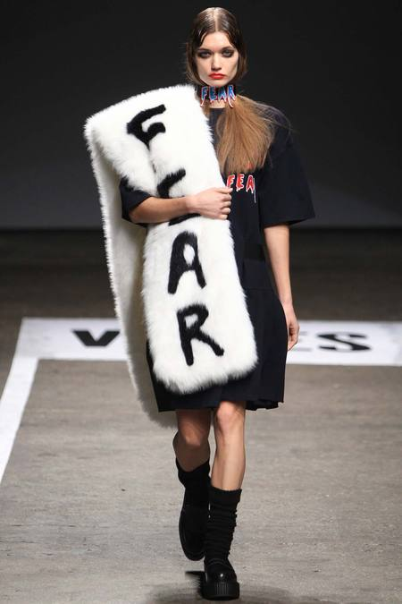 V-Files Scary Smart #NYFW Catwalk Show