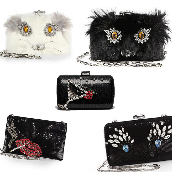 The Peeeeerfect Holiday Clutches