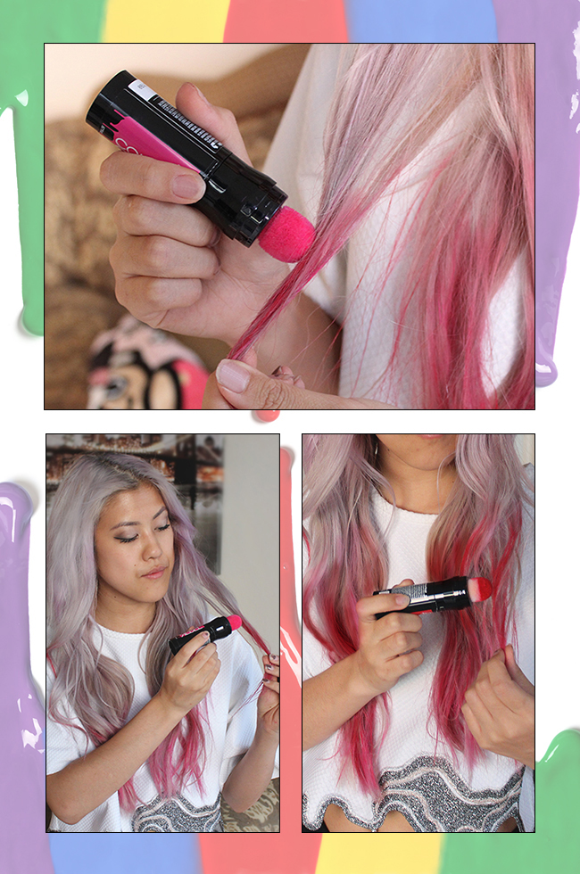Trending Awesome Color Rebel Temporary Hair Streaking