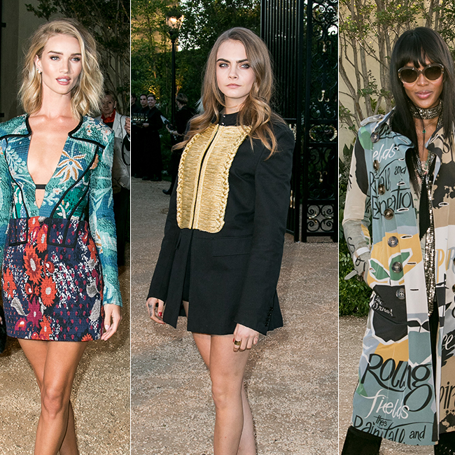 Burberry Brings London To Los Angeles In Spectacular Style