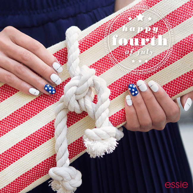 Beaming Red, White, and Blue! Our Favorite 4th of July Nail Designs!