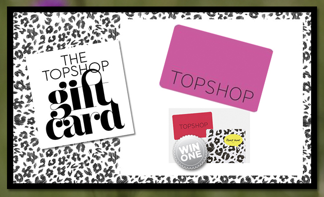 how to use topshop gift card online