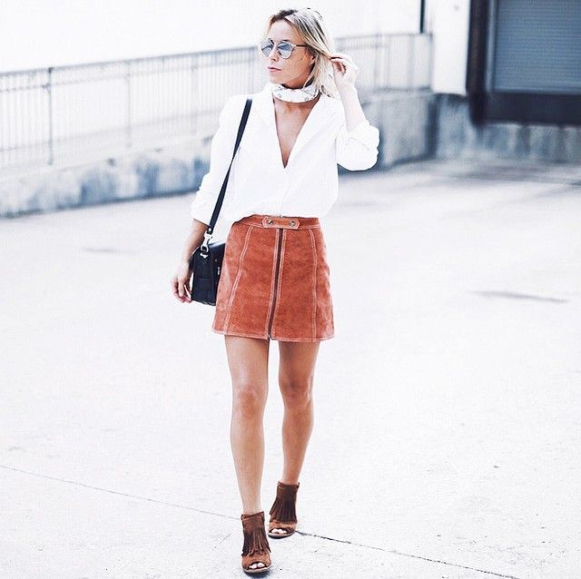 The Skirt For Every Season, Say Hello To Suede!
