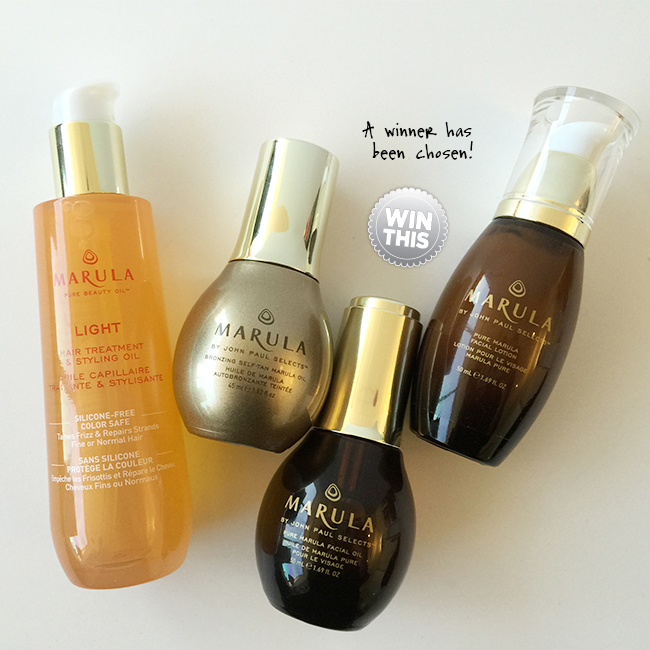 Congrats To The Marula Oil 'Keep Your Skin Glowing Summer Gift Pack' Giveaway Winner!