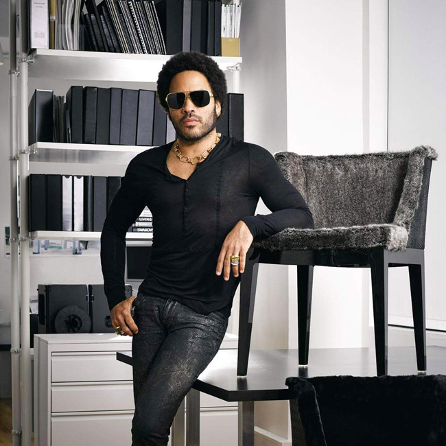 Home Inspo: '70s Glam CB2 X (Lenny) Kravitz Design Collab